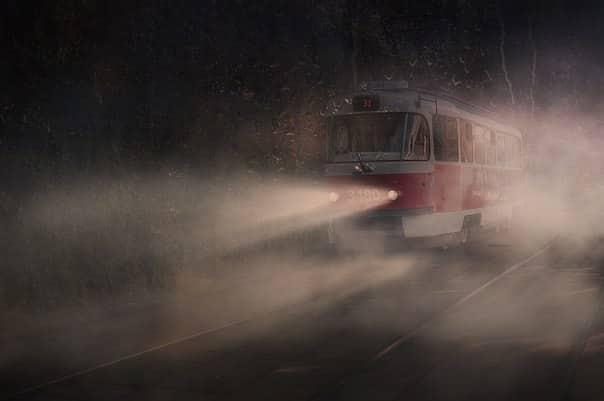 Веселый мистический трамвайчик